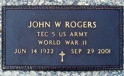 John Washington J.W. Rogers