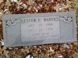 Lester Eugene Barnes