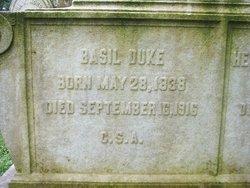 Basil Wilson Duke