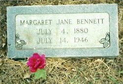 Margaret Jane Jane <i>LaRue</i> Bennett