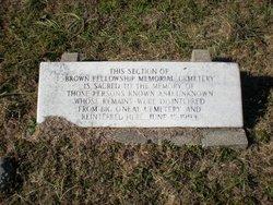Brown Fellowship Society Cemetery
