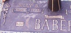 Billy Benjamin Baber