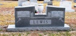 Ella Mae <i>Bertling</i> Lewis