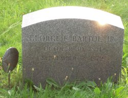 George Edward Bartol, Jr