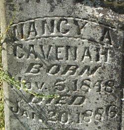 Nancy A <i>Wright</i> Cavenah