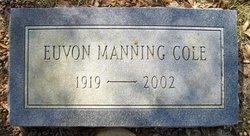 Euvon Manning Cole