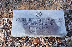 Ethel Rebecca <i>Murphy</i> Owens