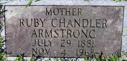 Ruby <i>Chandler</i> Armstrong
