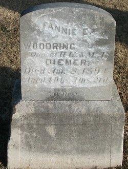 Fannie D. Woodring