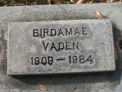 Birdamae Birdie <i>Miner</i> Vaden