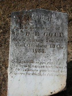 William D. F. Goff