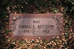 Emma Elizabeth <i>Savage</i> Becton