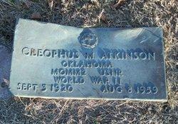 Cleophus M Atkinson