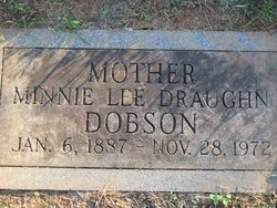Minnie Lee <i>Nunn</i> Dobson