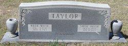 Sallie Miller <i>Tunstall</i> Taylor