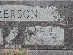 Bertha Inez <i>Monroe</i> Emerson