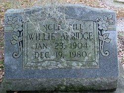 Willie Uncle Bill Akridge