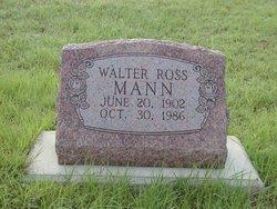 Walter Ross Mann