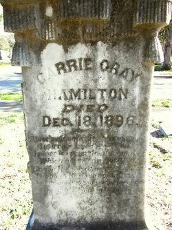 Carrie <i>Gray</i> Hamilton