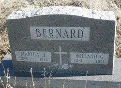 Martha Jane Mattie <i>Funk</i> Bernard