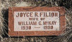 Joyce R <i>Filion</i> McKay