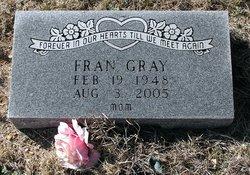 Frances Mae Fran <i>Burson</i> Gray