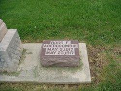 Ross F Abercrombie
