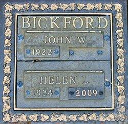 Helen Lucille <i>Seavers</i> Bickford