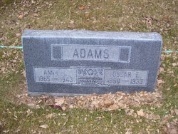 Annie Love <i>Stevens</i> Adams