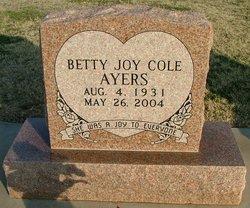 Betty Joy <i>Cole</i> Ayers
