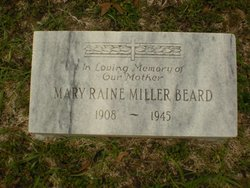 Mary Raine <i>Miller</i> Beard