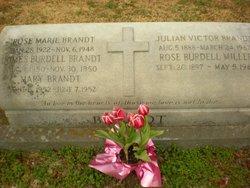 Rose Burdell <i>Miller</i> Brandt