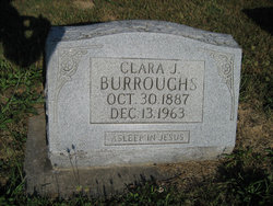 Clara Johanne <i>Ahrens</i> Burroughs