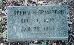 Mrs Eugenia Pope <i>Moore</i> Crawford