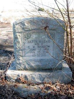 Hattie Melissa <i>Lewis</i> Barrow