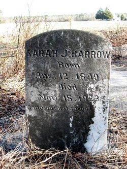 Sarah Jane <i>Fornes</i> Barrow