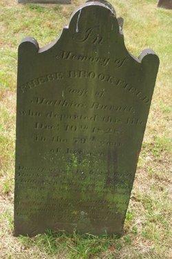 Phebe <i>Brookfield</i> Burnet