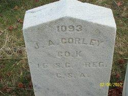 Lieut James A Corley