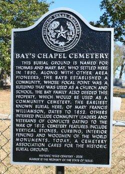 Bay's Chapel Cemetery