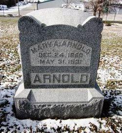 Mary Ann <i>Wade</i> Arnold