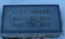 Lenora T. Nora <i>Aytes</i> Snyder