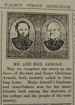 Corp Christian C. Arnold