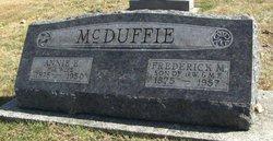 Annie Eveline <i>Benge</i> McDuffie