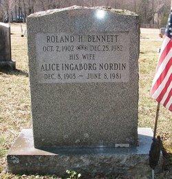 Alice Ingaborg <i>Nordin</i> Bennett