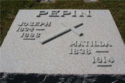 Matilda <i>Morrisette</i> Pepin
