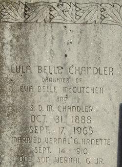 Lula Belle <i>Chandler</i> Arnette