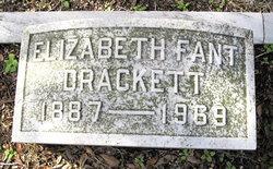 Elizabeth <i>Fant</i> Drackett