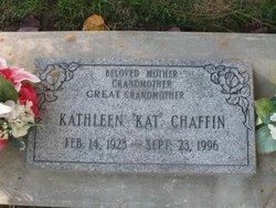 Clarice Kathleen Kat <i>Gregory</i> Chaffin