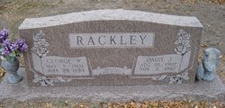 Daisy J. <i>Claxton</i> Rackley