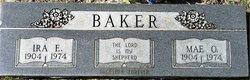 Mae Opal <i>Hicks</i> Baker